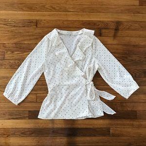 Banana Republic Tops - Wrap blouse from Banana Republic